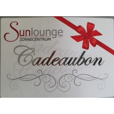 Cadeaubon Sunlounge