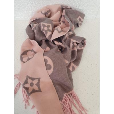 Sjaal Roze grijs